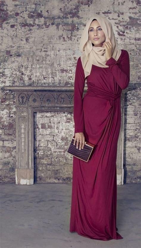 Gamis Pesta Abaya Baju Muslim Wanita Modern Longdress maxi caftan belted bahraini abaya styles for