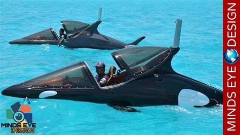 5 amazing futuristic underwater vehicles you ll wish you