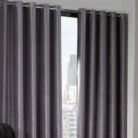 silver ring top curtains logan silver eyelet ring top thermal blackout curtains