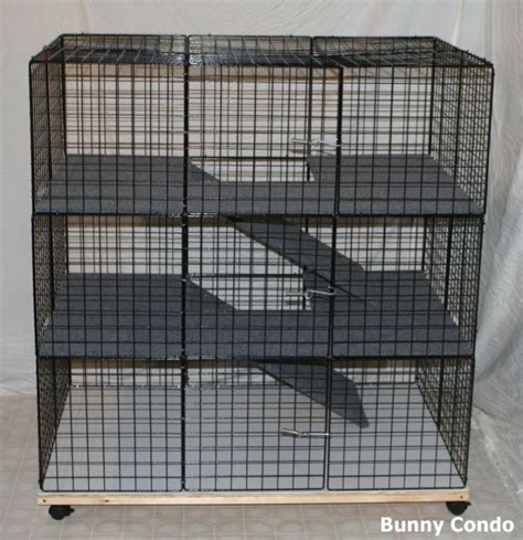 Handmade Cage - large rabbit bunny condo cage handmade indoor pen home
