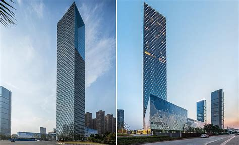 gallery of jiangxi nanchang greenland zifeng tower som 8 the 268m 879ft 56 storey tower is located in the gaoxin