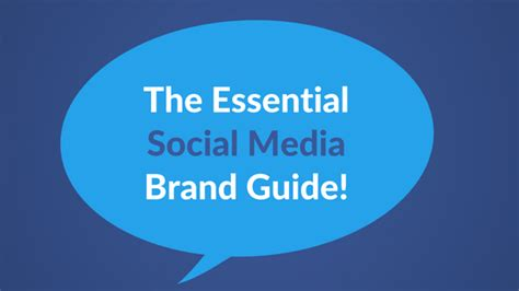 the essential social media brand guide marketing4actors
