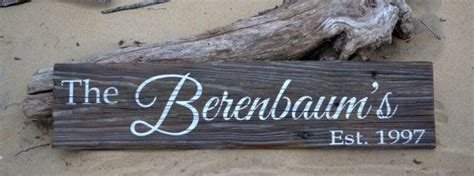 pictures of driftwood house signs personalized family name sign driftwood sign house sign gift custom established date last
