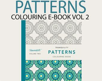 patterns in java volume 2 pdf ebook 30 pages printable adult colouring book