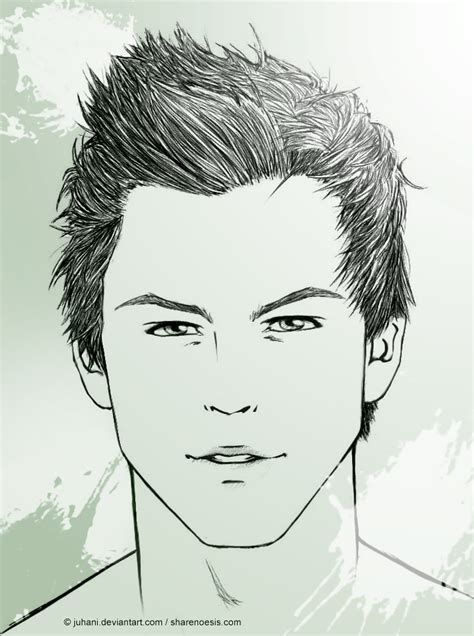 pencil drawing of hair styles of men pencil drawing of hair styles of men hairstyle drawings