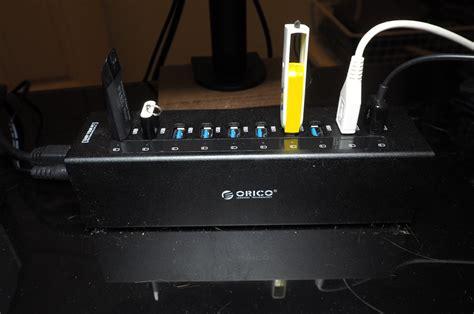 Usb Hub Orico orico a3h10 10 port usb 3 0 hub review world