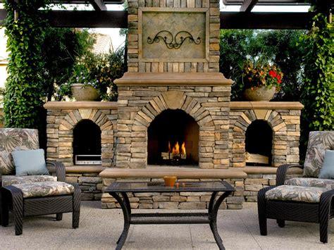 of outdoor fireplace outdoor fireplace design ideas hgtv