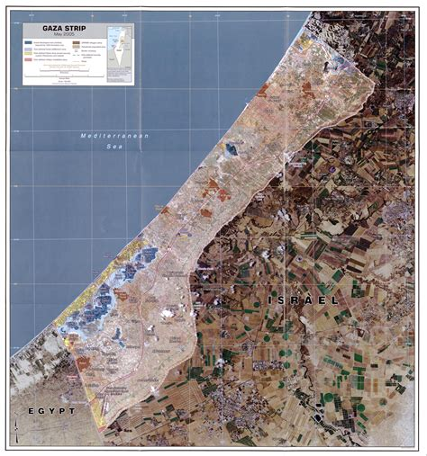 middle east map gaza gaza