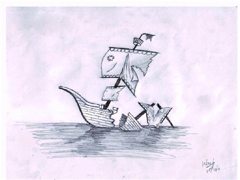 sinking boat drawing ship sinking drawing at getdrawings free for