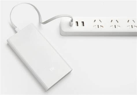 Xiaomi Powerbank Fast Charging 20000mah 2959 xiaomi mi power bank 20000mah white reviews price buy at nis store