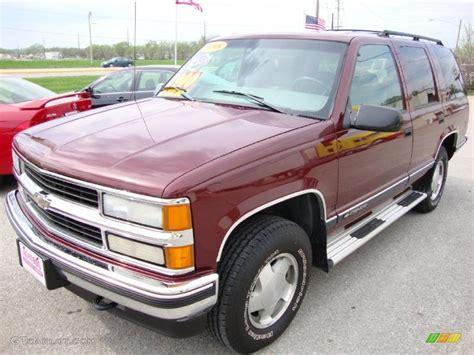 1998 carmine metallic chevrolet tahoe lt 4x4 28723761 gtcarlot car color galleries