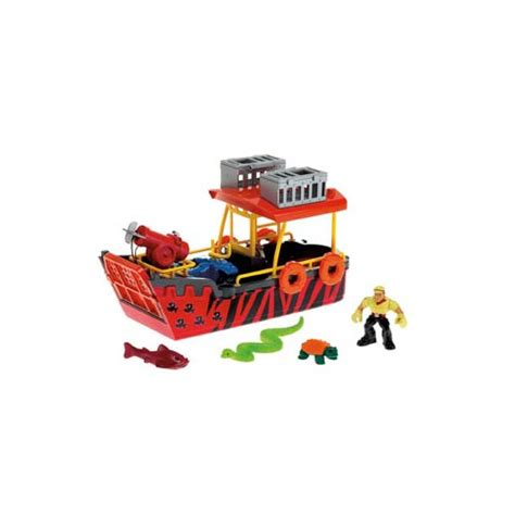 object moved - Imaginext Boat