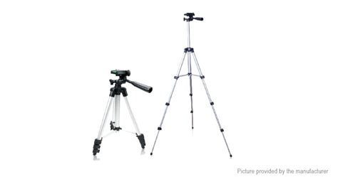 Tripod Stand 4 Section Aluminum Brown 11 84 portable aluminum alloy digital tripod stand