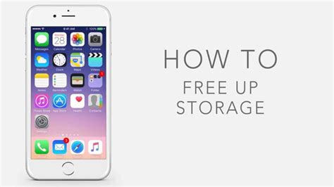 how to optimize photos on iphone how to free up storage on iphone and ipad youtube