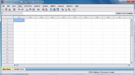 tutorial of spss 17 lentera pena tutorial spss cara aktivasi spss 17