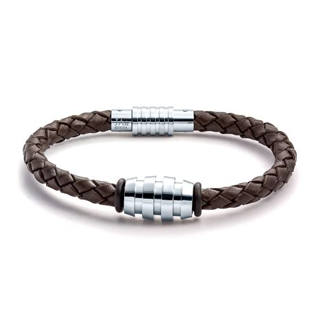 leather jewelry 1249 aagaard mens jewelry bracelet