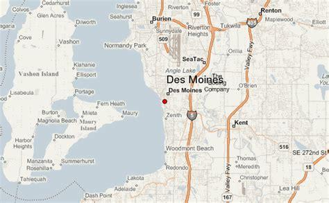 map of oregon 205 desmoines location guide