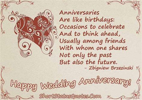 Wedding Anniversary Quotes For Status by Wedding Anniversary Status For Whatsapp And