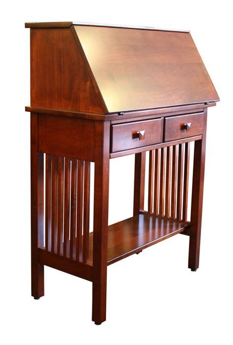mission writing desk ohio hardwood furniture