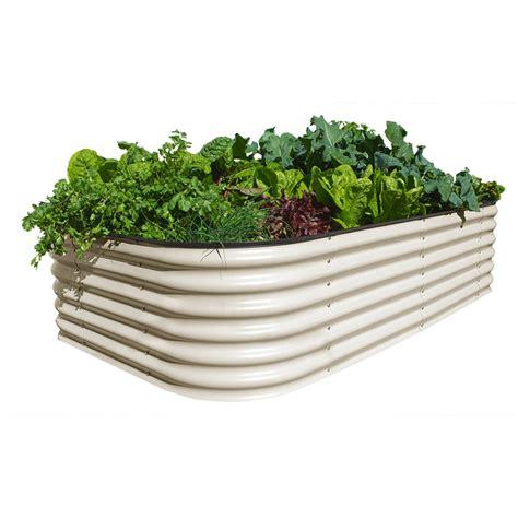 Modular Raised Garden Beds - birdies 2200 x 1300 x 600mm paperbark 6 in 1 raised garden bed i n 3320675 bunnings warehouse