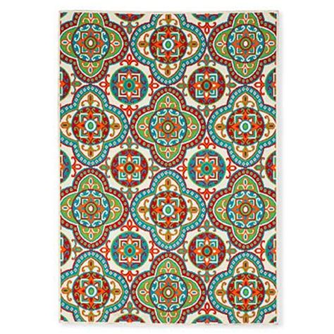 Big Lots Outdoor Rugs 59 Quot X 84 Quot Damien Style Snow Multi Patio Rug At Big Lots