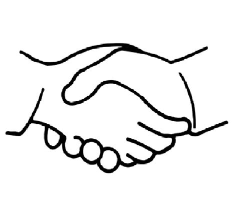 coloring page of shaking hands coloring pages of shaking hands coloring clipart best