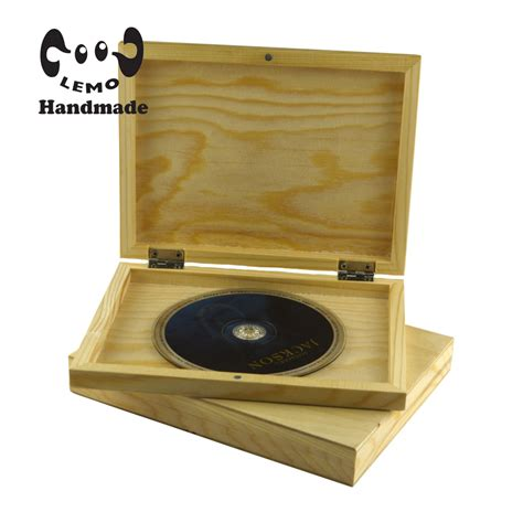 Handmade Cd - mg handmade rectangle wood cd dvd keepsake