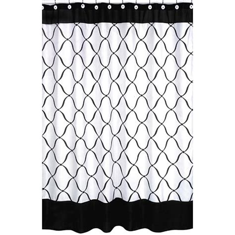 10 Black And White Checkered Shower Curtain Styles