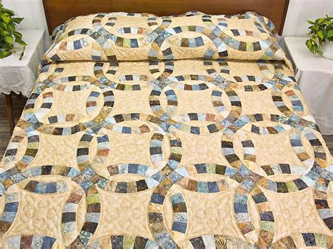Wedding Favors: Quilt Pattern Sale Double Wedding Ring History Kit Pieced Youtube Tutorial
