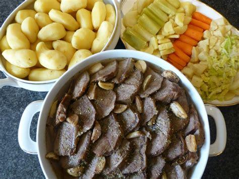 cuisine sous vide basse temp駻ature palette de bœuf cuite 224 basse temp 233 rature et sa farandole