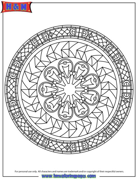 advanced mandala coloring pages printable advanced mandala 54 coloring page h m coloring pages