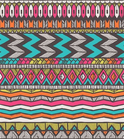 tribal pattern wiki tribal vector pattern seamless hand drawn background eps