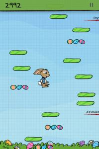 doodle jump easter eggs 2013 the app tracker update doodle jump be warned