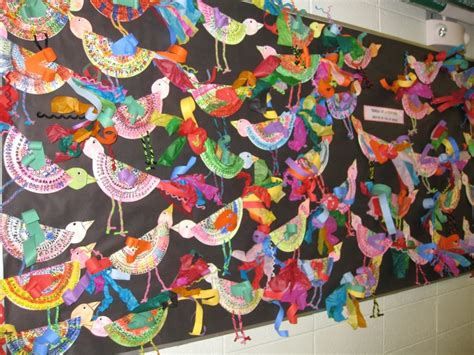 paper plate birds gr creative animal art projects