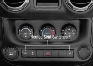 Heated Seats Jeep Wrangler 2011 Jeep Wrangler Interior Revealed In User S Guide