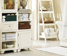 pottery barn bathroom storage 20 bathroom makeover ideas