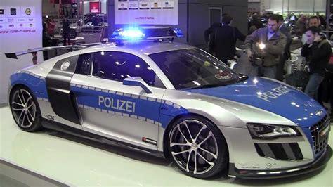 fast police car audi  gt   abt youtube