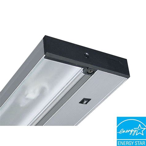 Commercial Electric Cabinet Lighting by Commercial Electric 12 In Led Silver Cabinet Light