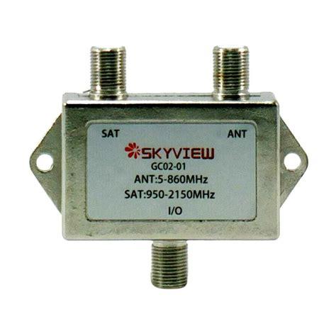 Kabel Parabola jual skyview gc02 01 mixer duplixer kabel antena tv and