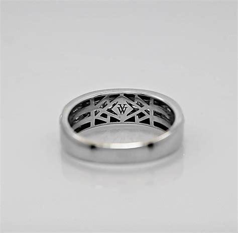 1 00 carat vera wang sapphire wedding band ring at