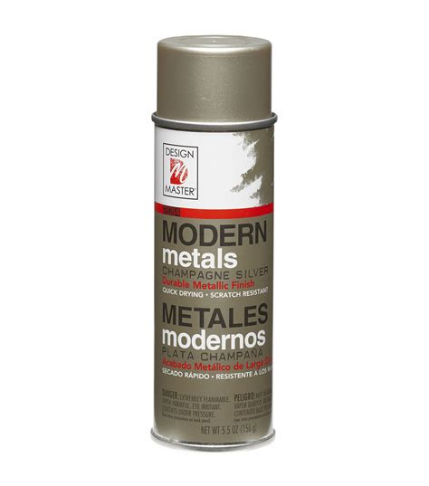 spray painter masters design master modern metals spray paint 5 5 ounces jo