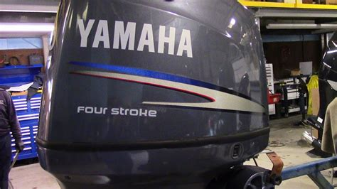yamaha boat motor hours 6m4d06 used 2010 yamaha f90tlr 90hp 4 stroke outboard boat