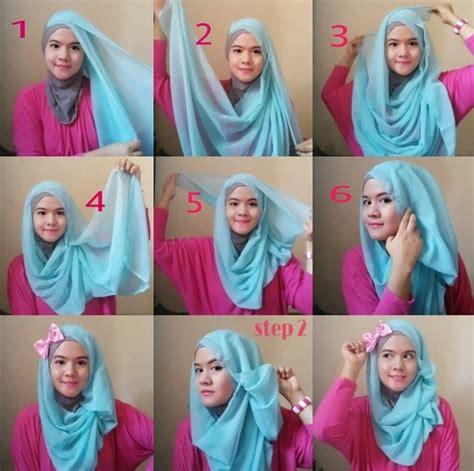 tutorial hijab model segitiga 23 tutorial model hijab modern paling hits 2017 2018