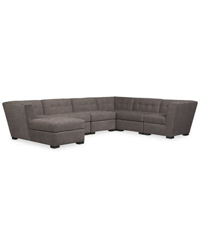 roxanne sofa macys roxanne fabric 6 piece modular sectional sofa with chaise