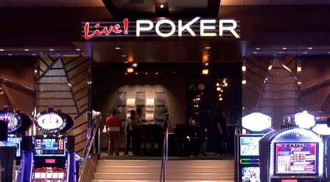 maryland live casino poker room poker tables open at maryland live casino video