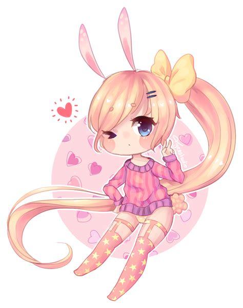 Dress Cibi chibi bunny by tigerstudio on deviantart