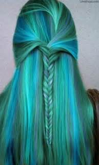 blue colored hair what hair color do you think would look amazing on