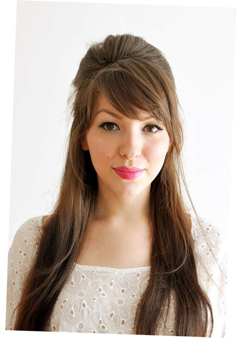 different hairstyles with bangs different hair styles for long hair latest 2016 ellecrafts