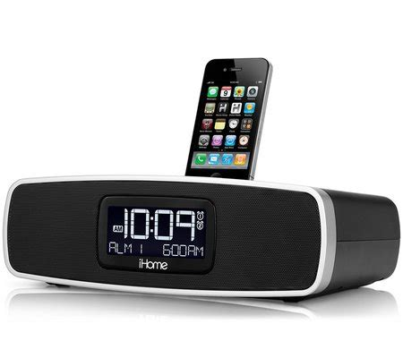 ihome ip90 dual alarm clock radio for your iphone ipod with am fm presets
