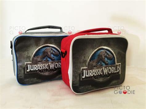 Tas Ransel Punggung Anak Jurassic World tas lunch bag std size pictogoodie